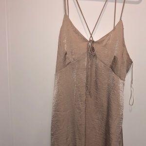 NWT - Silky, sexy slip dress with straps